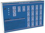 کنترل پنل اعلام حریق زیتکس مدل ZX 1800 زون 6 تا 18