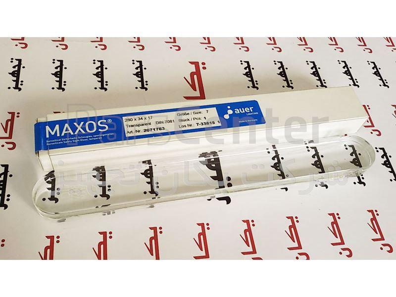 فروش و تامین لول گیج شیشه ای یا گیج گلاس (ترنسپرنت، شفاف، رفلکس،انعکاسی) MAXOS Sight Glass