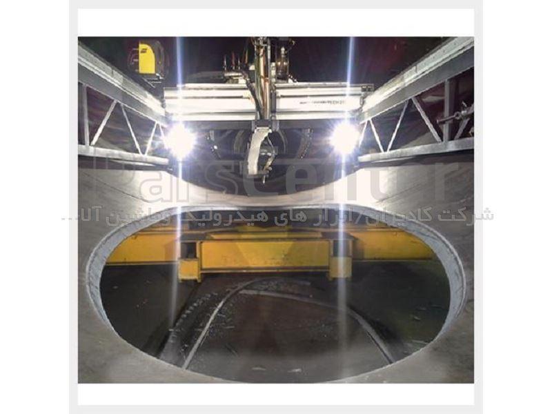دستگاه جوش ، برش و پخ زنی CNC سه بعدی پنج محور پرتابل  مدل MCM-1000 ساخت کمپانی پروموتک لهستان