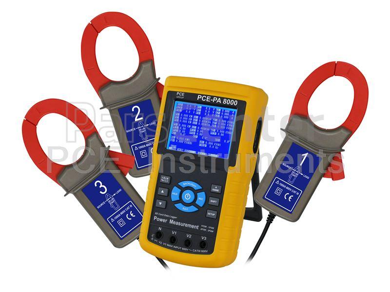 پاور آنالایزر Electrical Tester PCE- PA 8000