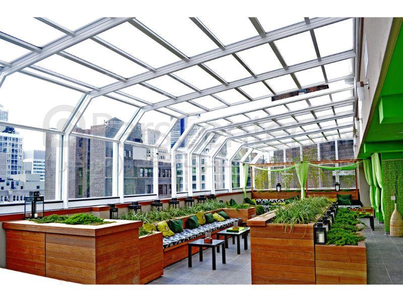 پوشش سقف استخر مدرن