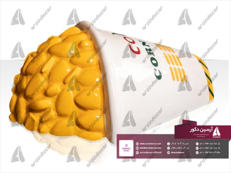 ماکت تبلیغاتی ذرت مکزیکی دیواری