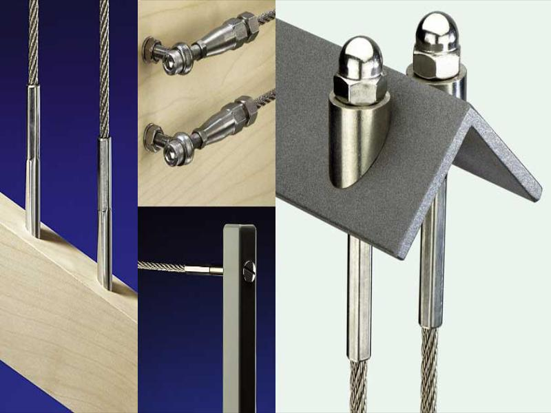 Stainless steel rigging