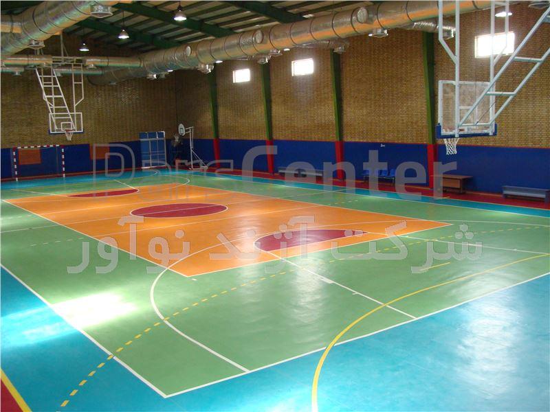 حلقه بسکتبال سقفی جمع شونده ریموت دار آژندنوآور مدل IB9005