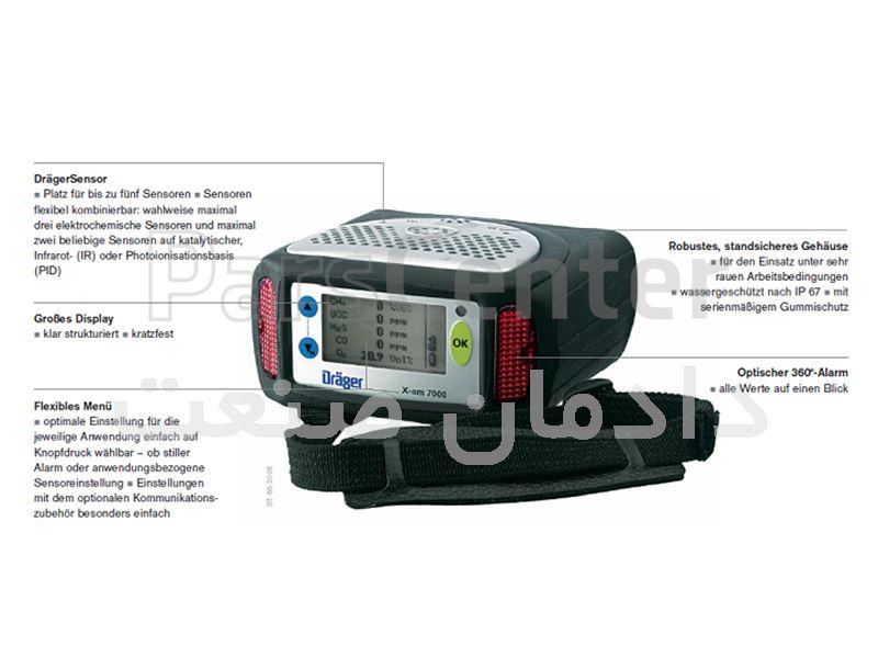 گازسنج XAM7000-DRAGER