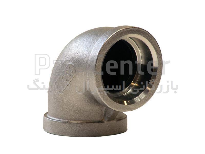 زانو 3/4 اینچ فشار قوی 3000 ساکت- اسپیرال فیتینگ