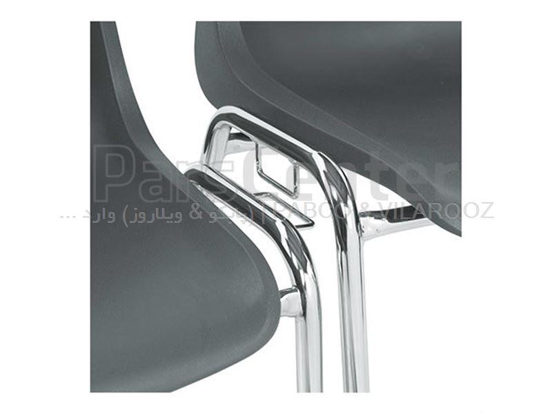 صندلی پلاستیکی پایه فلزی فیبرون