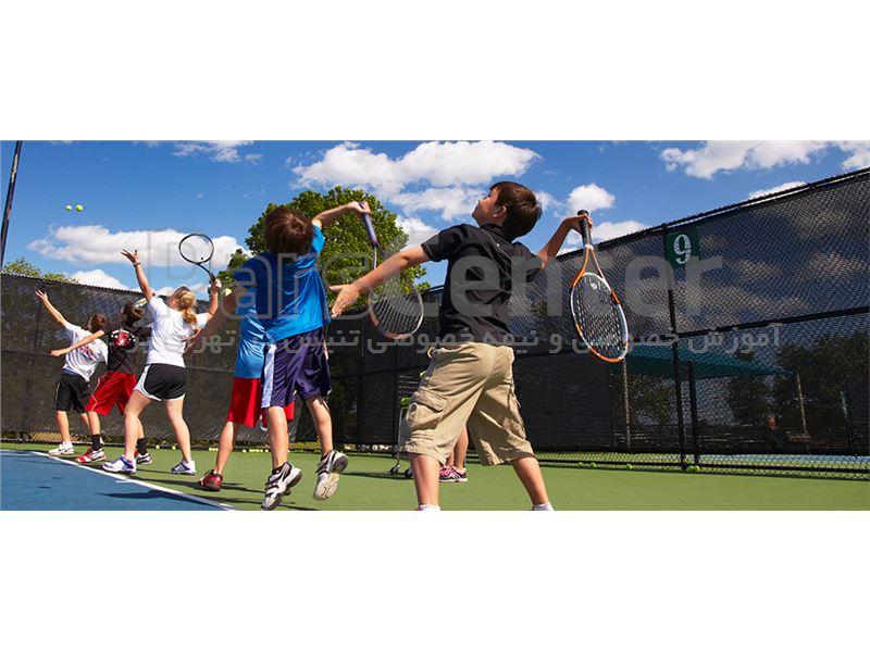آموزش گروهی تنیس در تهران برای بانوان در تمامی سنین