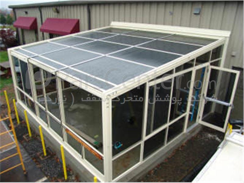 ساخت اتاقک سبک شیشه ای - محصولات کانکس در پارس سنتر... ساخت اتاقک سبک شیشه ای