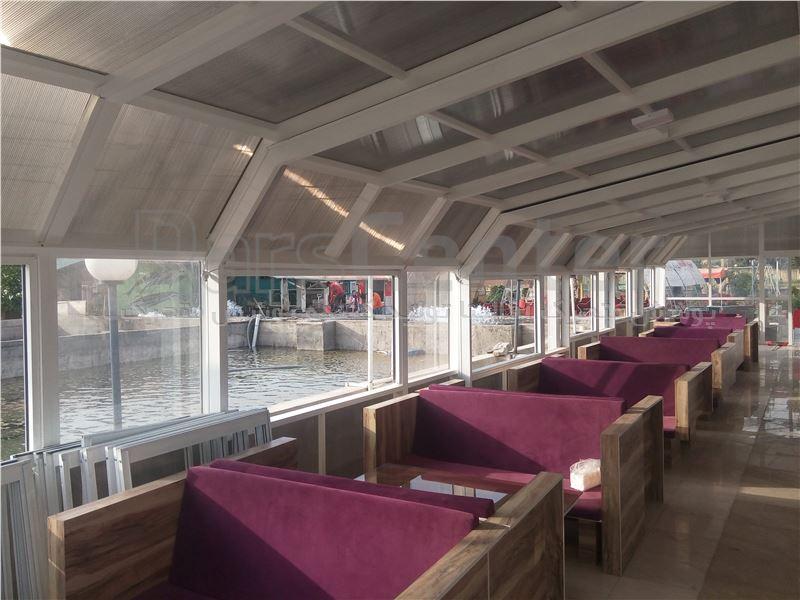 سقف رستوران - متحرک