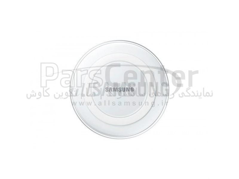 Samsung Wireless Charging Pad White پد وایرلس شارژر سفید سامسونگ