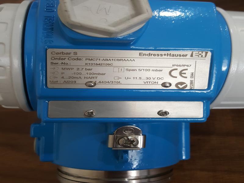 ترانسمیتر فشار CERABAR مدل PMC71