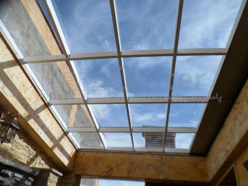 تهران پاسیو - اجرای سقف پاسیو و نورگیر پاسیو و پوشش حیاط خلوت و نورگیر حیاط خلوت و پوشش نورگیر و سقف کاذب