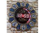 ساعت دیجیتالی ال ای دی در ابعاد 40 در 100 سانتیمتر