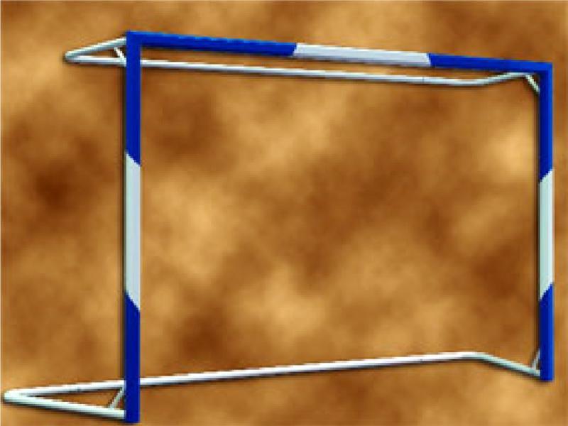 تیر دروازه  فوتسال آلومینیومی استاندارد آژندنوآور مدل 1FS007