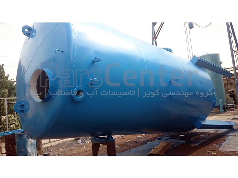 مخزن ضربه گیر اتمسفریک | Surge Tank