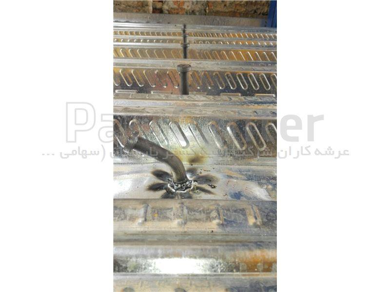 تولید کننده و مجری تخصصی سقف عرشه فولادی ، ورق عرشه فولادی ، انواع گلمیخ ، انواع فلاشینگ