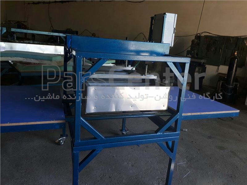 دستگاه چاپ روی تیشرت ش100در120پنوماتیک ریلی کشویی09118117400