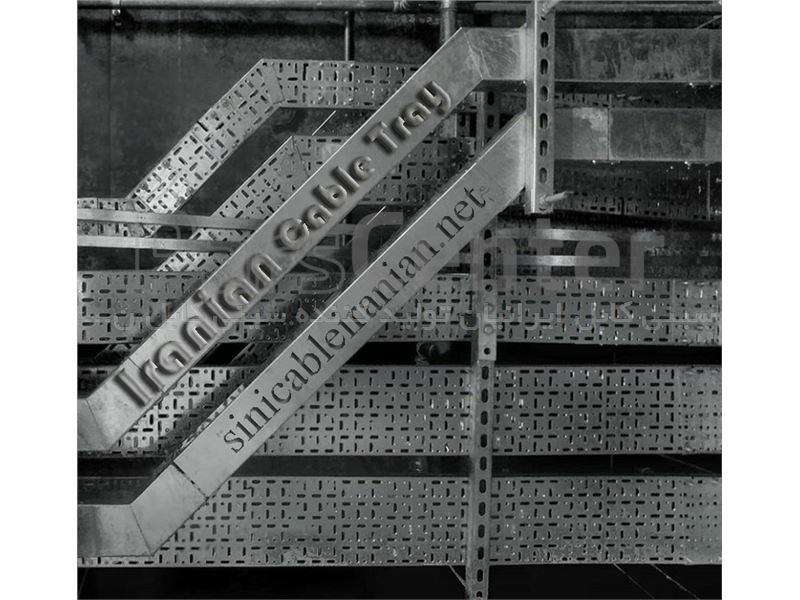 سینی کابل فلزی عرض 45 سانتیمتر