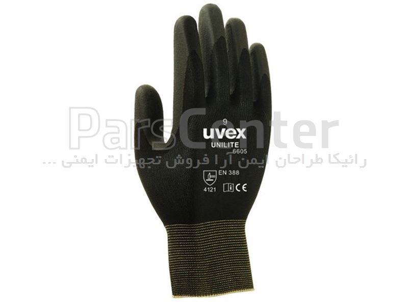 دستکش ایمنی ضد برش Uvex مدل unilite 6605
