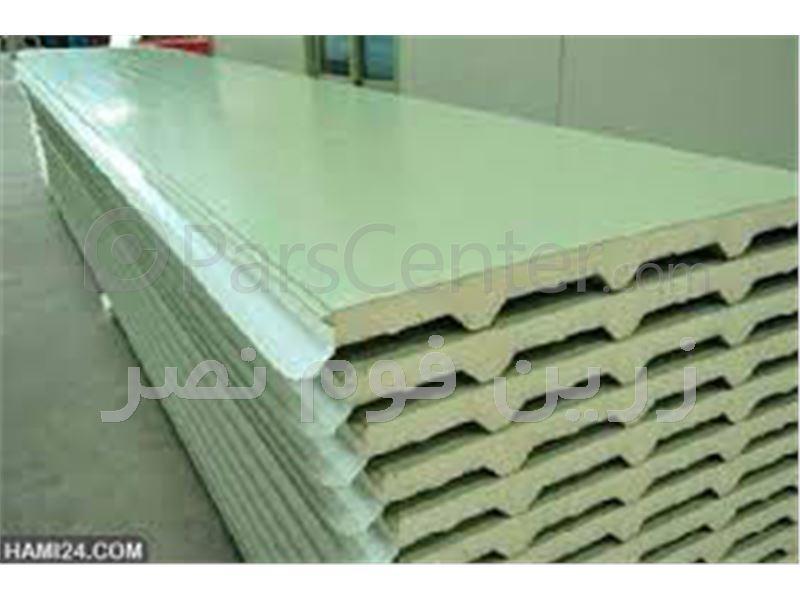 ساندویچ پانل یکرو ورق گالوانیزه - محصولات پانل دیوار و سقف در پارس ...... ساندویچ پانل یکرو ورق گالوانیزه ...