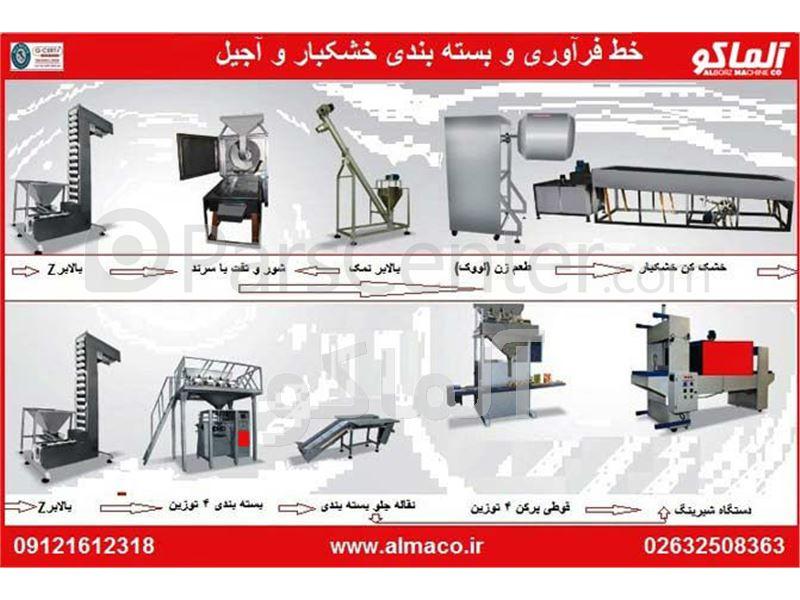 دستگاه بسته بندی خشکبار AL-NPM