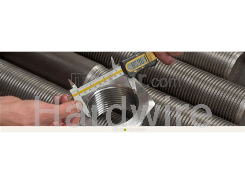 B8 stainless steel stud bolt and nut