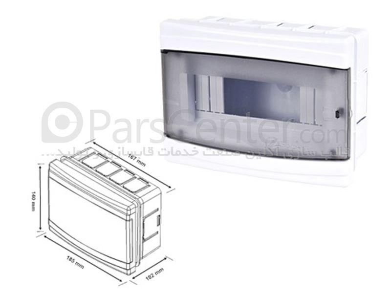 ساخت قالب تزریق پلاستیک جعبه تقسیم و جعبه فیوز برق