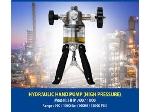هندپمپ کالیبراسیون 1000 بار روغن فشار هیدرولیک  calibration Hand pump