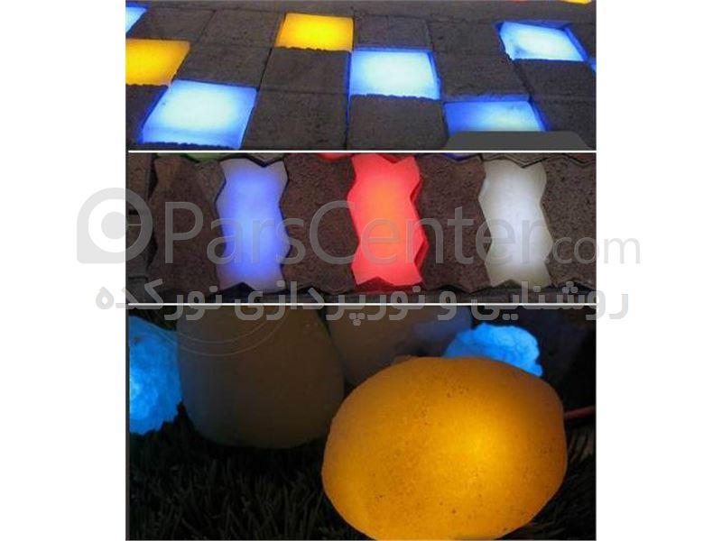 سنگ های نورانی  led رایان ( Light Stone )