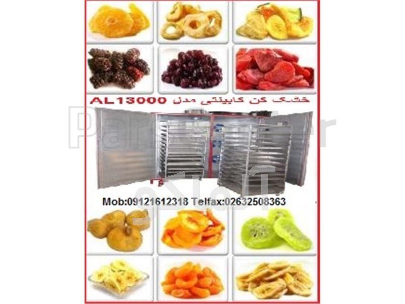 دستگاه خشک کن میوه صنعتی AL13000