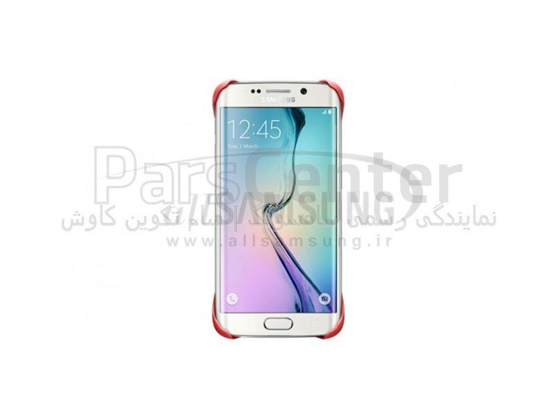 Samsung Galaxy S6 Edge Protective Cover Pink پروتکتیو کاور صورتی گلکسی اس 6 اج سامسونگ