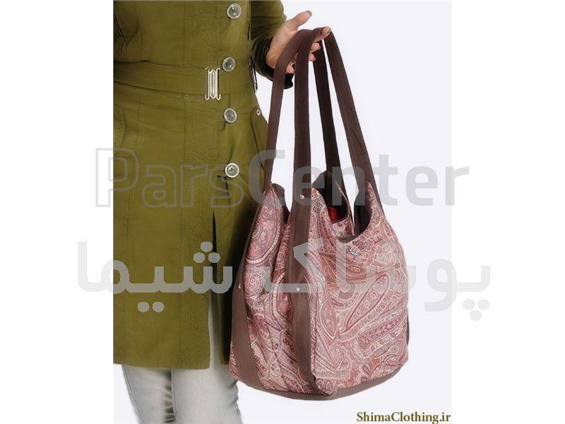 کیف پارچه ای طرح ترنج