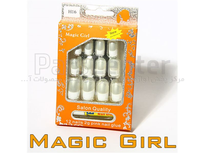 ناخن مصنوعی درجه یک مجیک گرل magic girl