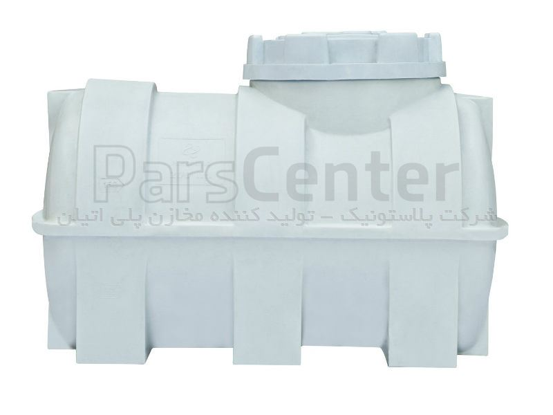 بشکه پلاستیکی - مخزن 300 لیتری افقی سه لایه