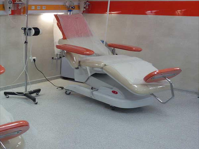 تخت برقی شیمی درمانی مدل مهتاب