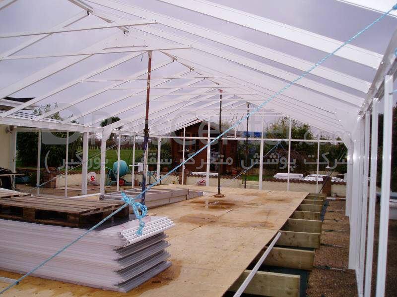پوشش سقف استخر ثابت