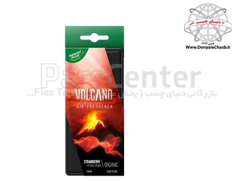 خوشبو کننده ارگانیک قوطی (VOLCANO ORGANIG (STRAWBERRY لهستان