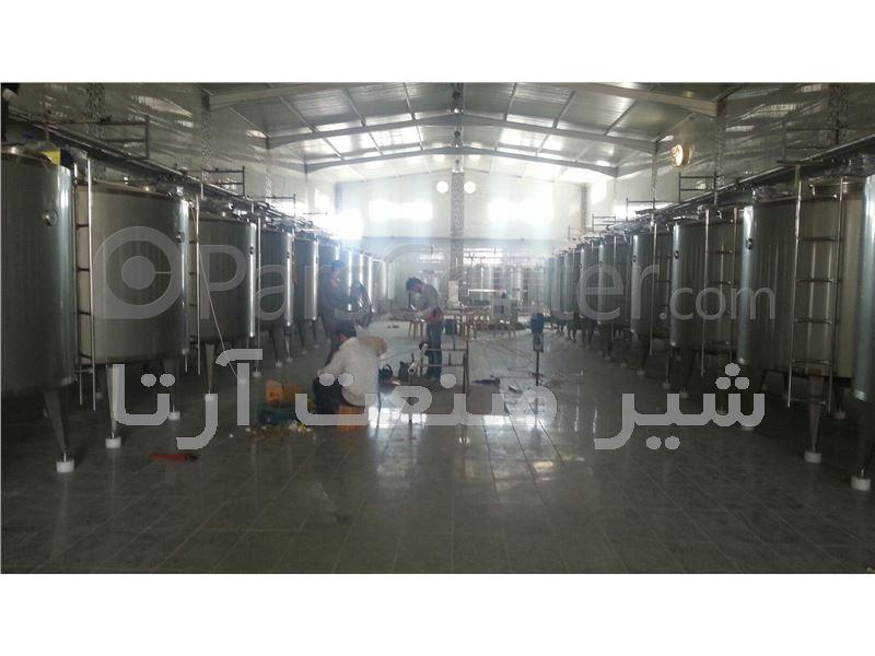 پروسس تانک ( دیگ پخت ) Process Tank