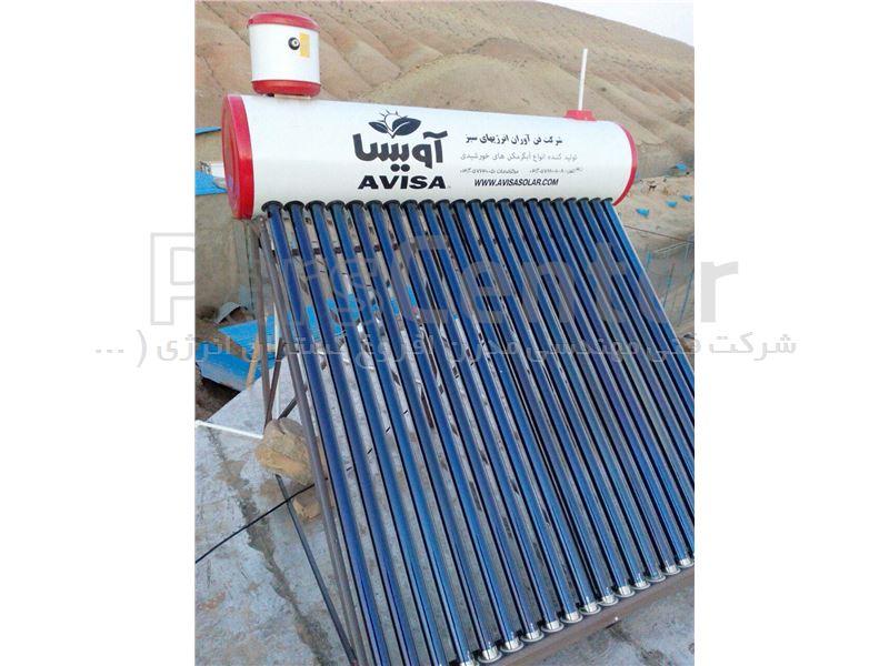 آبگرمکن خورشیدی 150 لیتری هوشمند وکیوم تیوپ