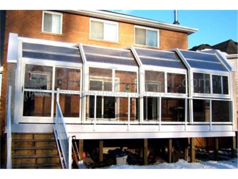 سیتم پوشش بالکن و تراس متحرک Balcony and terrace 18