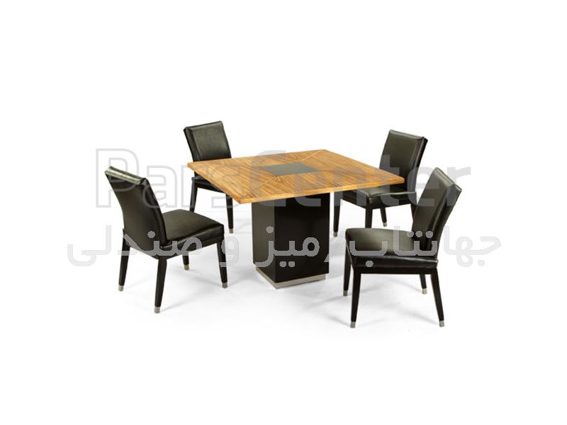 میز چوبی رستورانی مدل W94 (جهانتاب)