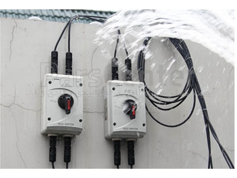 کلید جداکننده dc با ولتاژ1000ولت dc مخصوص پنل خورشیدی1000DC isolator switch