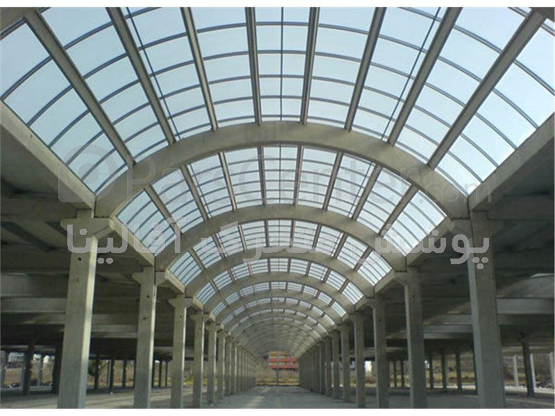 پوشش مراکز تجاری - پوشش پاساژ - پوشش مراکز تفریحی-پوشش سالن ورزشی-پوشش نورگیر سوله