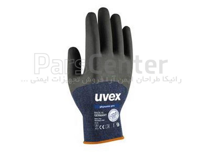 دستکش ایمنی مخصوص کارهای دقیق Uvex مدل Phynomic pro