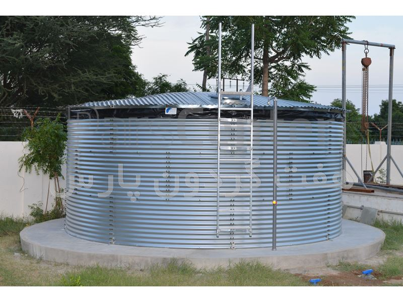 مخزن پیش ساخته ذخیره آب آشامیدنی