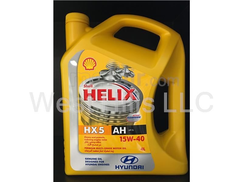 Shell Helix Motor Oil HX5 15W40 API: SL