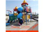 مجموعه بازی پارکی پلی اتیلن با سرسره تونلی