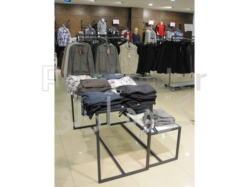 قفسه پوشاک،رگال لباس-قفسه بندی بوتیک 6