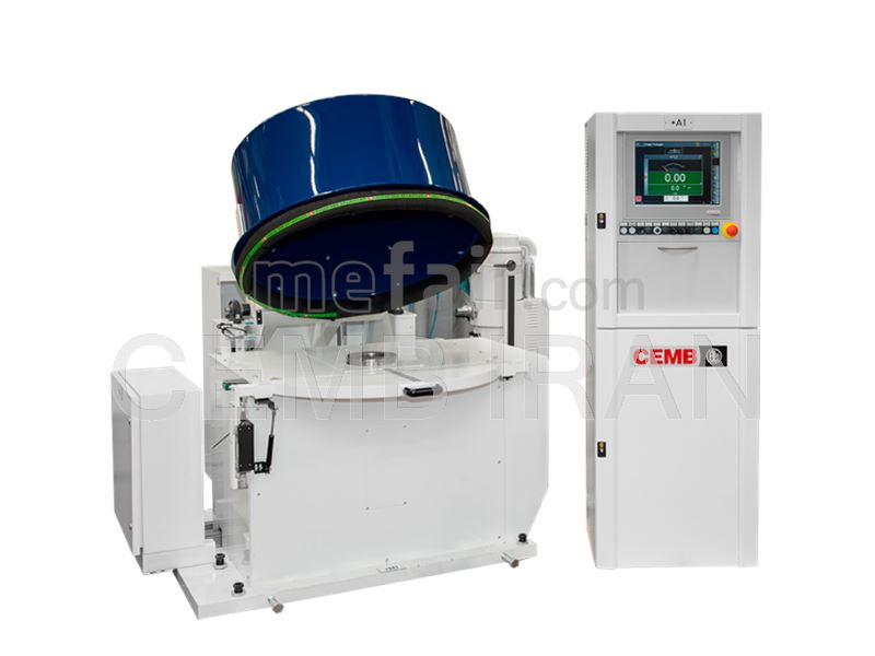 Balancing Machine for Aircraft Industry - CEMB